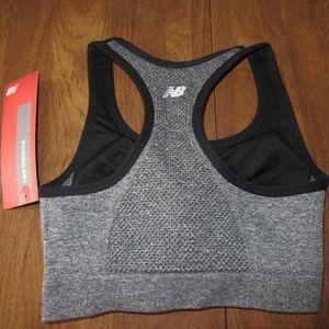 7fd22ba3e7252 New Balance Intimates   Sleepwear - New Balance XS Grey Gray Black Sports  Bra NWT
